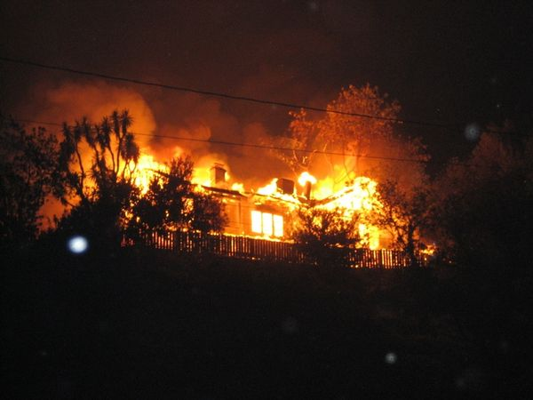 Catalina fire