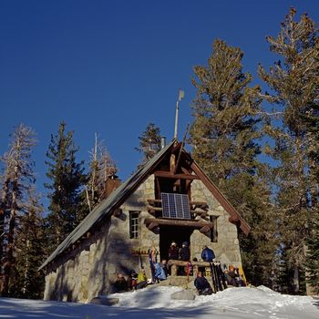 Ostrander Ski Hut -Photo Credit- Hugh Sakols