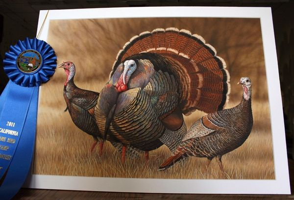 California upland game bird stamp art contest announced for Indiana fishing license age