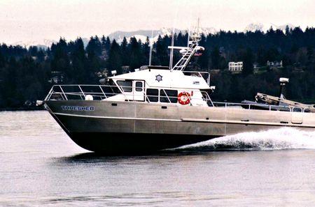 Thresher-boat